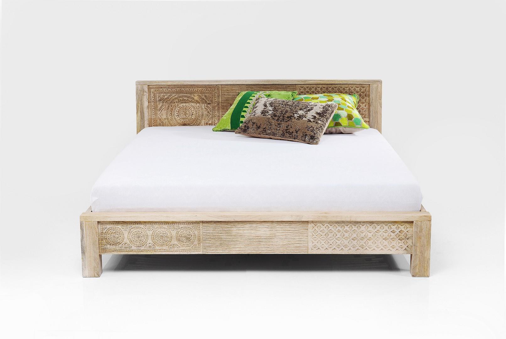 Kare bett puro mangoholz in 160 oder 180 cm m bel for Betten lagerverkauf