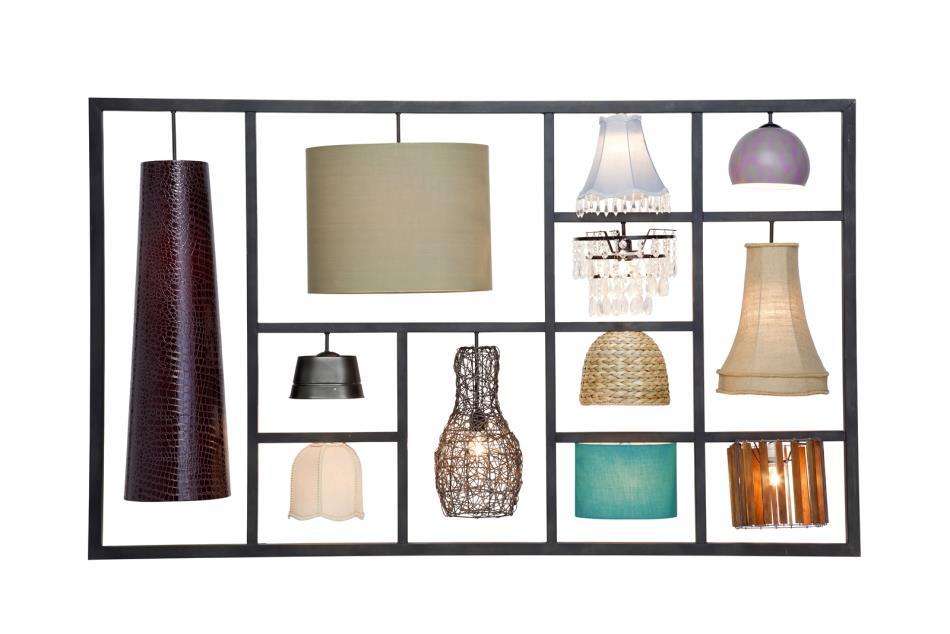 kare wandleuchte parecchi art house wohnaccessoires. Black Bedroom Furniture Sets. Home Design Ideas