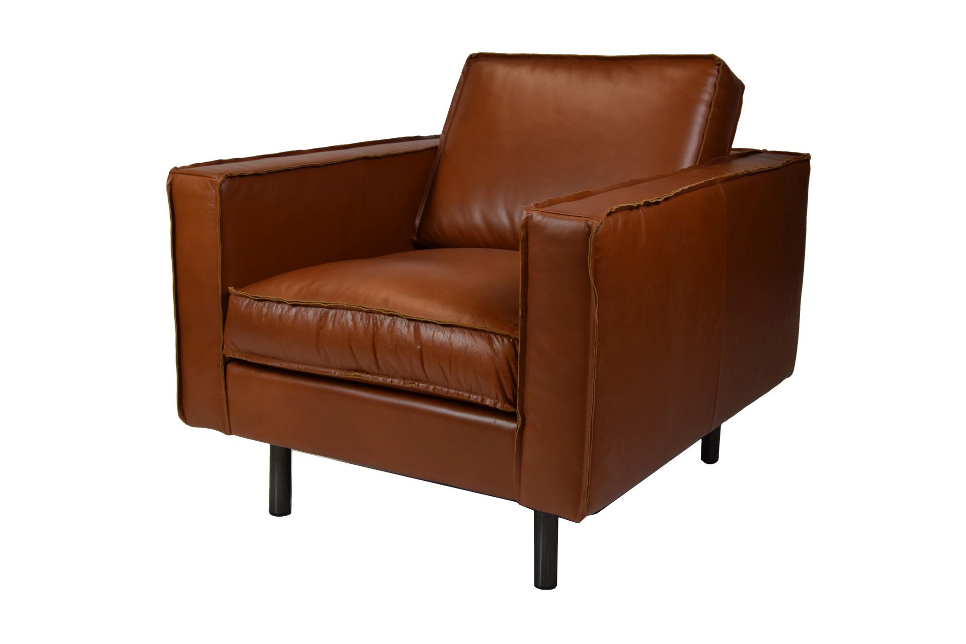 ledersessel gaucho vintage anilin rodeo cognac 1 sitzer. Black Bedroom Furniture Sets. Home Design Ideas