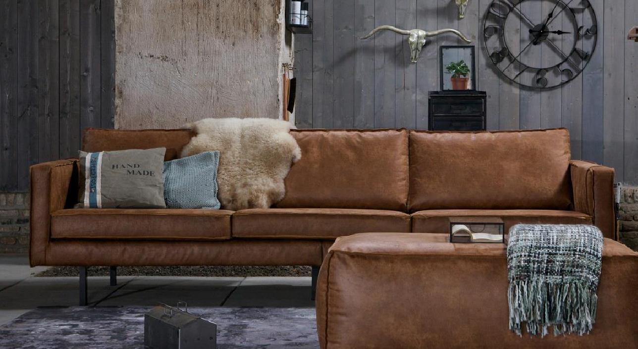 Ledersofa rodeo 3 sitzer cognac m bel sessel sofas for Ledersofa lagerverkauf