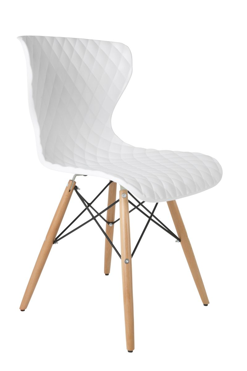 zuiver esszimmerstuhl crow wei m bel st hle vintagehaus. Black Bedroom Furniture Sets. Home Design Ideas