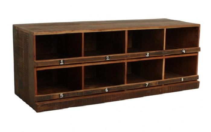 vintage schuhschrank old wood shabby chic m bel. Black Bedroom Furniture Sets. Home Design Ideas