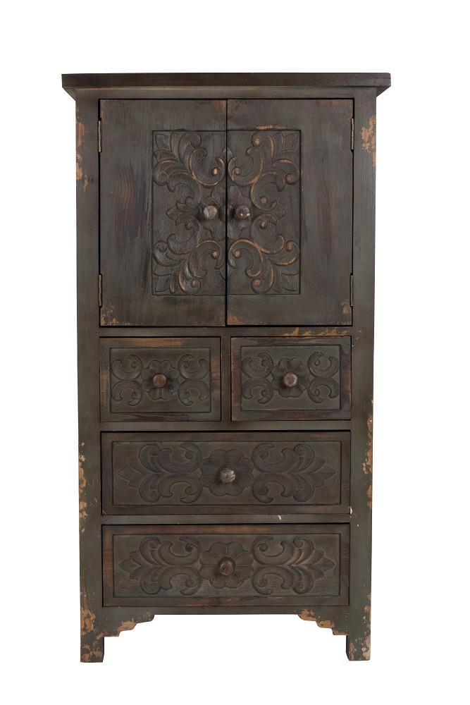 vintage hochkommode schrank kolonial fuz m bel regale. Black Bedroom Furniture Sets. Home Design Ideas