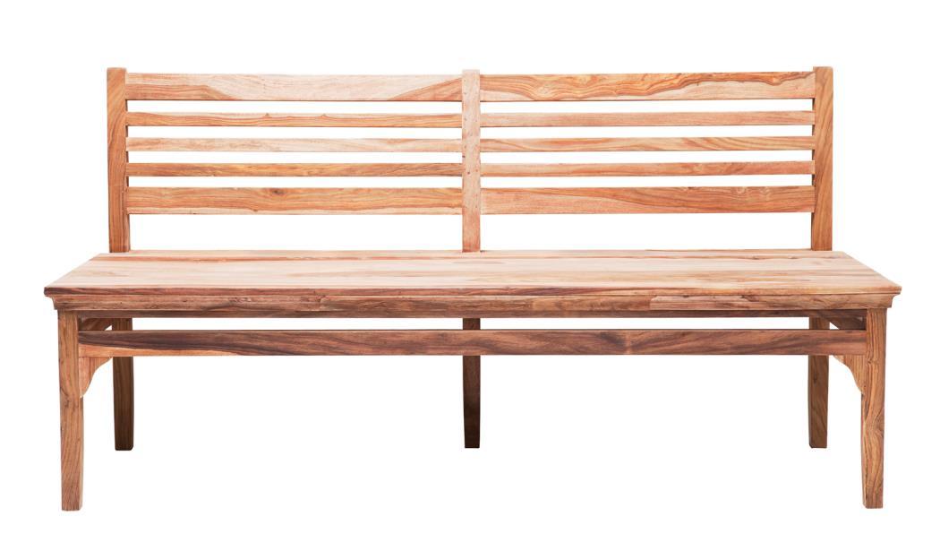 Esstischbank sitzbank valencia 170 cm sheesam massivholz for Kare lagerverkauf